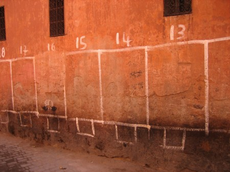 Wall Pitches Morocco 2, 2008, Photoworks