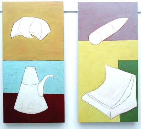 Belongings 6 & 7, 2003, each 50 x 100 cm