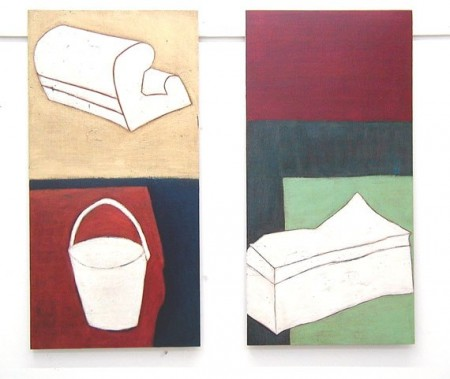 Belongings 1 and 2, 2002, each 50 x 100 cm